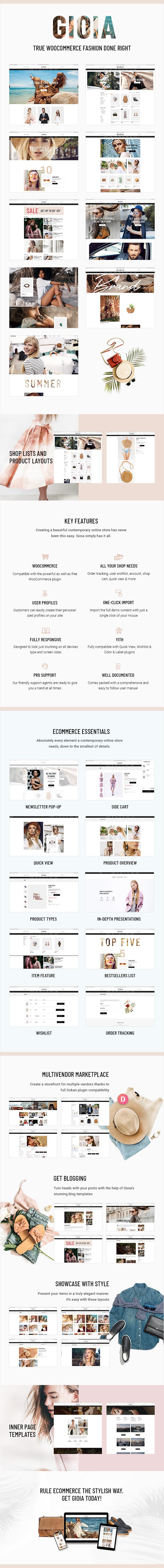 Gioia - Modern Fashion Shop - 1